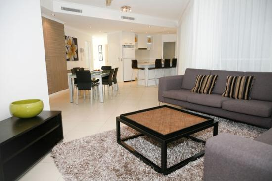 The Emerald Resort Noosa: Rooms are child friendly