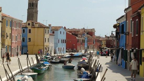 Burano near Venice.