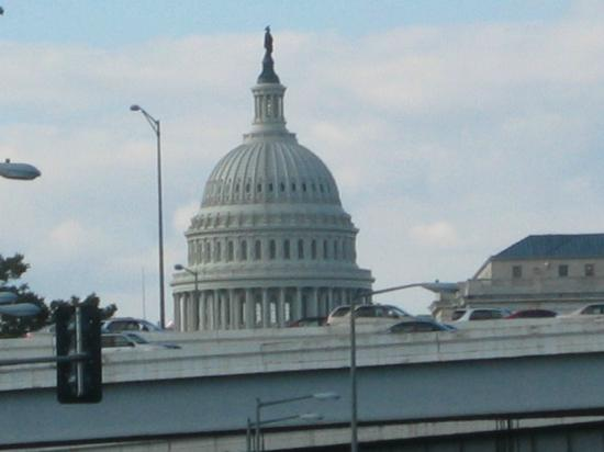 Capitol Skyline Hotel: Ausblick vor dem Hotel