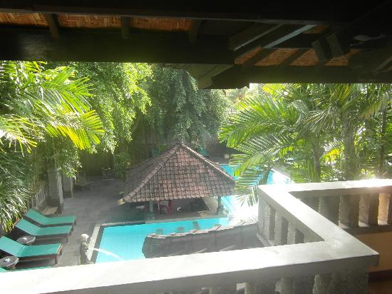 Hotel Puri Bambu: vue de la terrasse