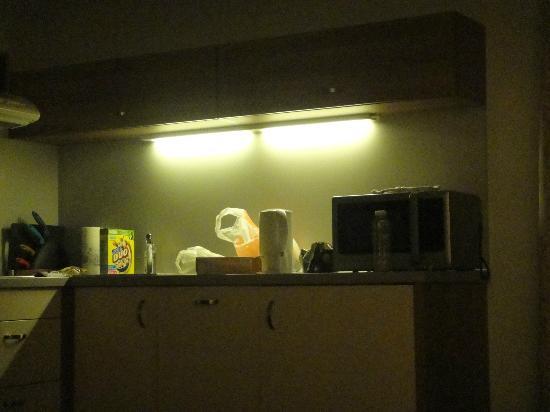 Hoffmeister & Spa: kitchen area
