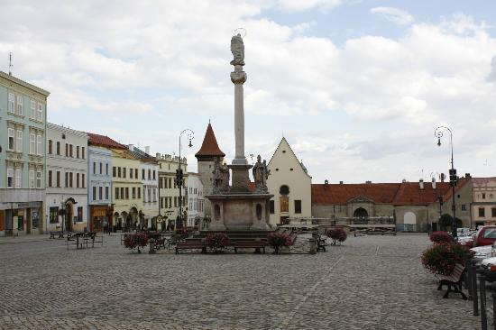 Plague Column on Masaryk Square