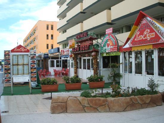 Walkirias Resort: Fantastisk kinarestaurant i hotellet