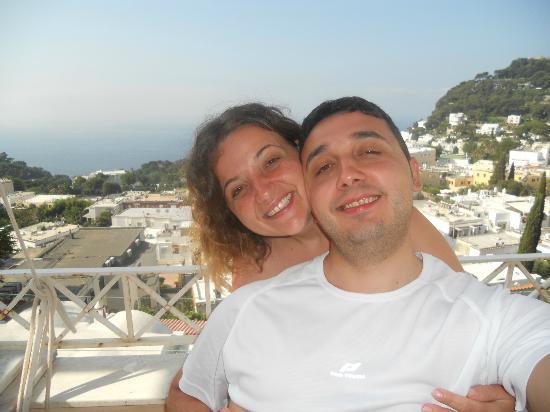Albergo Esperia: Terrazzino della camera panoramicissimo!!!!