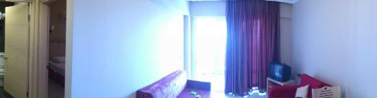 Candan Apart Hotel: Lounge
