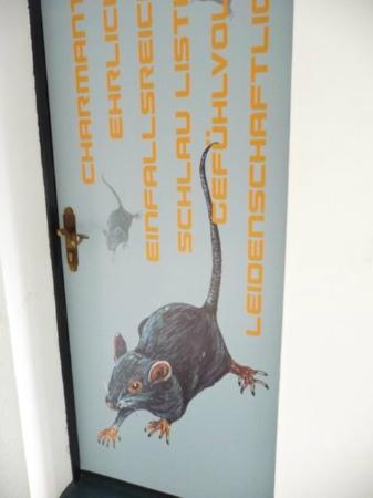 hotel12: Door art- mouse