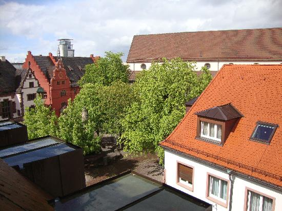 Hotel am Rathaus: Vista dalla camera