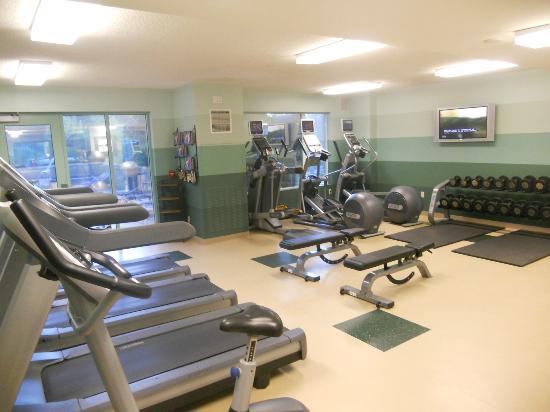 Seattle Marriott Redmond: Fitness center view #1