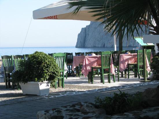 Santorini Reflexions Sea: Frühstücksterrasse