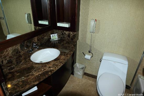 Woodbine Hotel & Suites : Bathroom