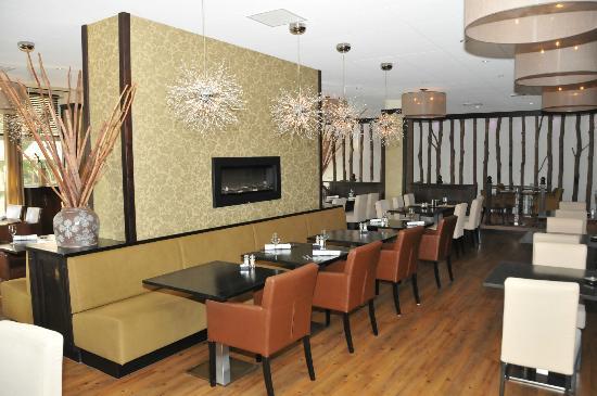 Strandhotel Bos en Duin: Het gezellige restaurant