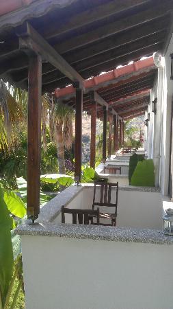 Xanthos Boutique Hotel: Balkon