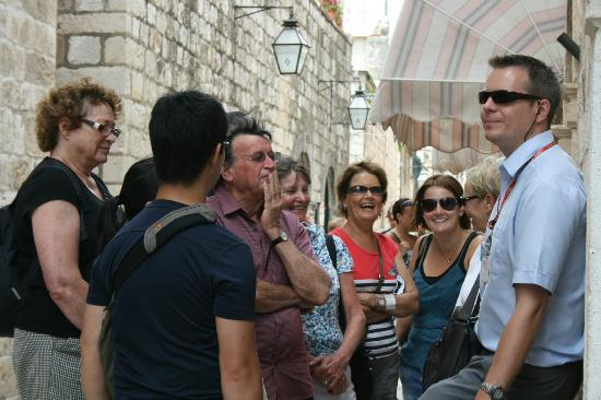 Dubrovnik Walking Tours: One of our trusty guides Igor!