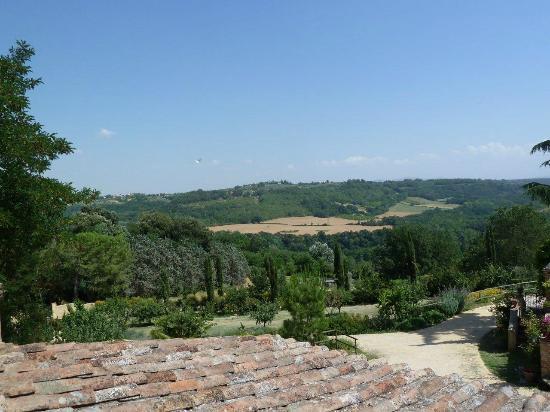 Torraccia di Chiusi: View from our room.