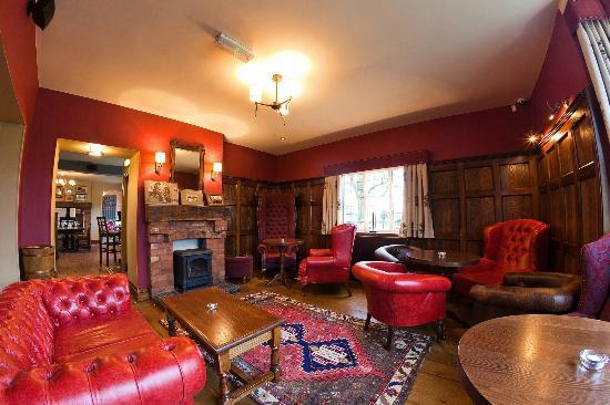 The Dog and Doublet Inn Sandon: The Oak Room lounge