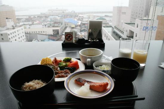 Hotel Resol Hakodate: Breakfast
