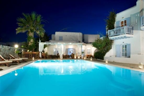 Dionysos Boutique Hotel: Pool Area