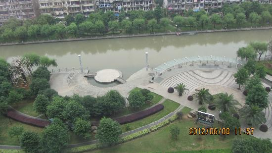 Looking Down From Front Rooms Of Romantic Hotel, TaiZhao, Zhejiang Province
