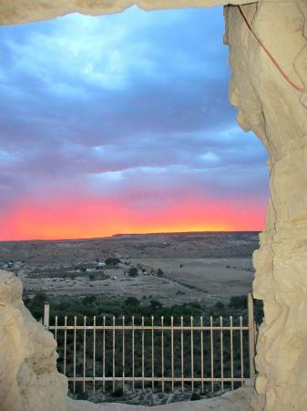 Farmington, Nuevo Mexico: View from bedroom balcony