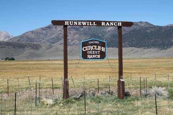 Hunewill Guest Ranch: Here you are