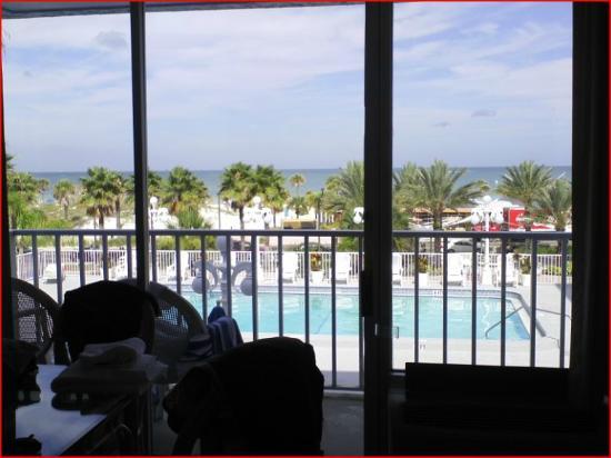 Beachview Hotel: Beautiful View of Gulf/Clearwater Beach