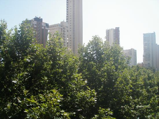 Vina del Mar Apartments: VIEW FROM BALCONY