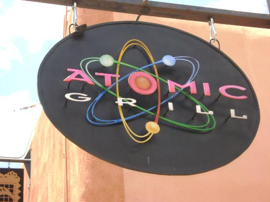 Atomic Grill: Sign