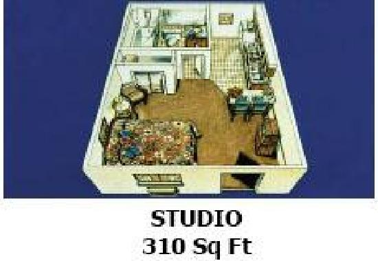 Tulsa Extended Stay Inn & Suites: Studio