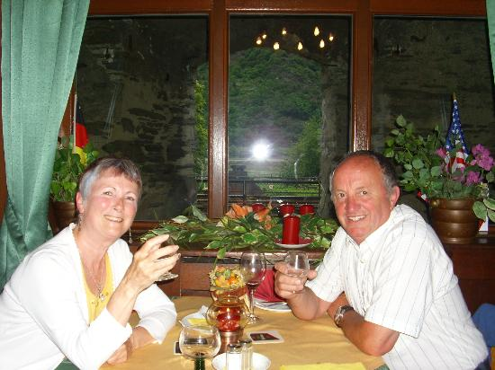 Hotel-Restaurant Kranenturm: Enjoying Brandy after Excellent meal