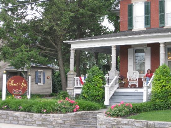 The Inn & Spa at Intercourse Village: Inn exterior. 