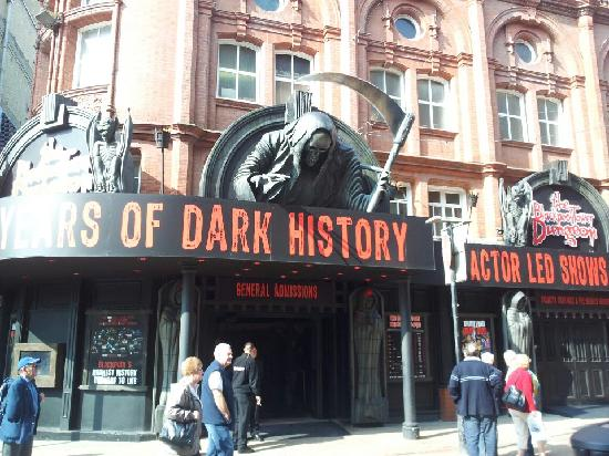 The Blackpool Tower Dungeon: outside