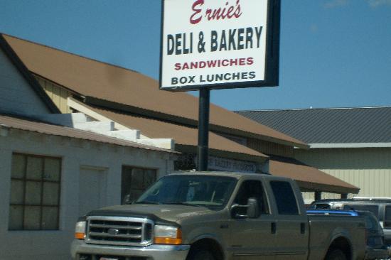 Ernie's Bakery and Deli : Ernie's Deli WYellowstone