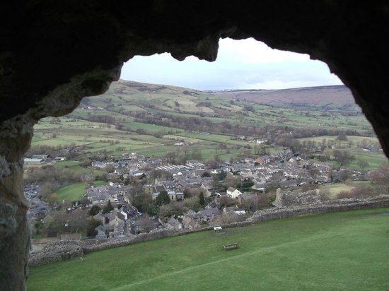 View from Peveril Castle.