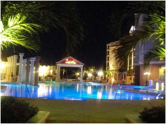 Quiet Pool At Night Picture Of Sandals Royal Bahamian