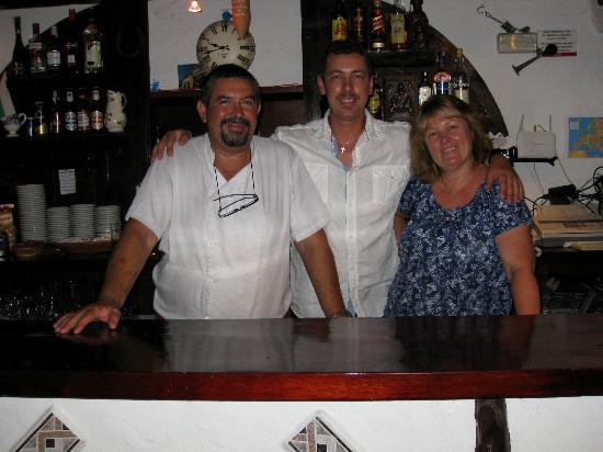 Pedreguer, Spain: La familia Revenetov, Iván, Iliyan el hijo y Dana