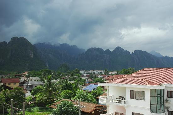Savanh VangVieng Hotel: Fantastic room view