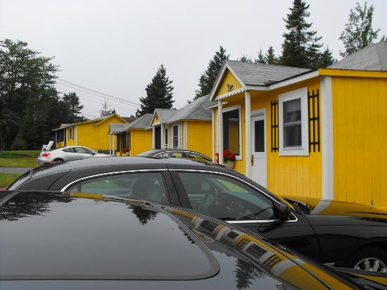 Sunnyside Motel & Cottages: Brightly painted cottages
