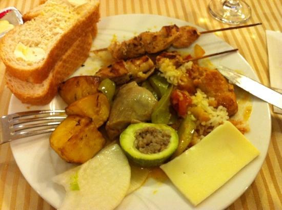 Viking Star Hotel: yummy dinner