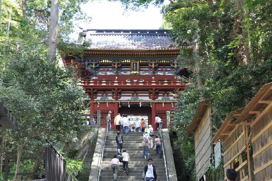 Kunozan Toshogu Shrine: 入口