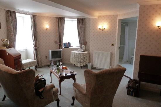 Kirroughtree House Hotel: Sitting area