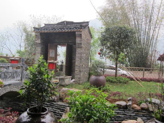 Yangshuo Tea Cozy: the entrance