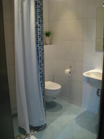 Hotel Dom Kosmonauty: Bathroom in the room
