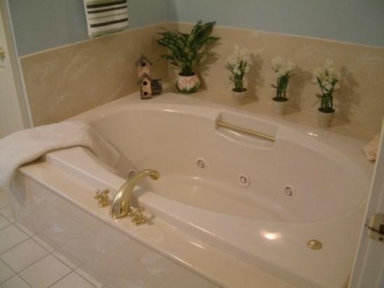 Truman Gillet House B & B: Connecticut Room Bath