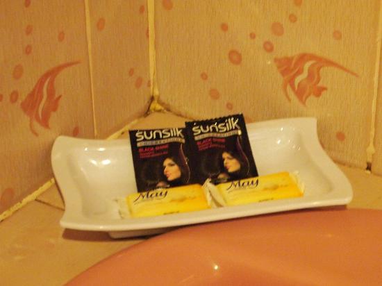 Malibest Resort: soap shampoo