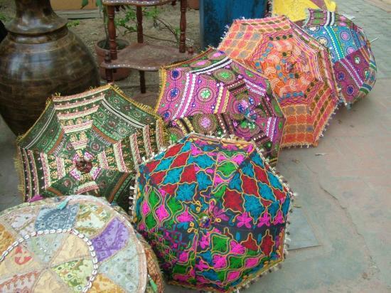 Dilli Haat: Umbrellas