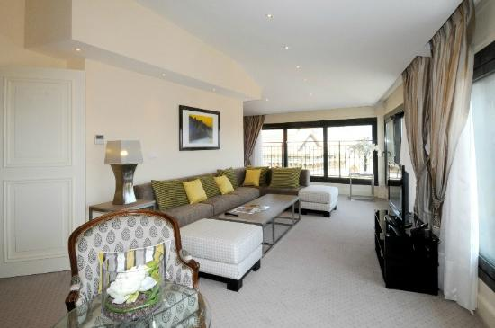 La Residence de la Reserve: Living Room