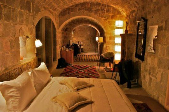 Argos in Cappadocia: Our incredible honeymoon suite!