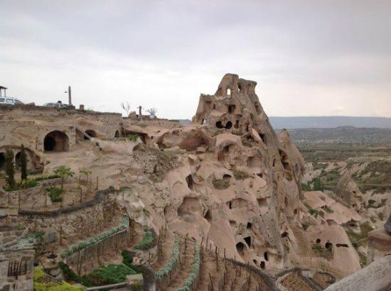 Argos in Cappadocia: Our own personal cave castle on the property