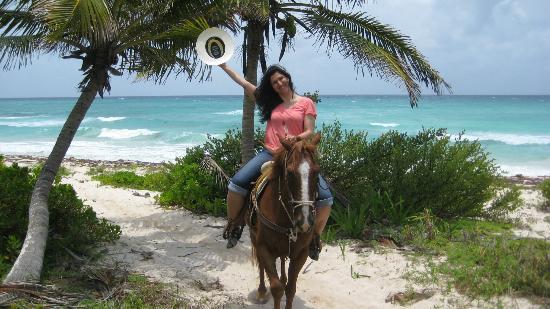 Punta Venado Eco Aventura Horse Back Riding At The Ranch