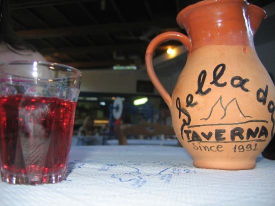 Taverna Sellada: house wine
